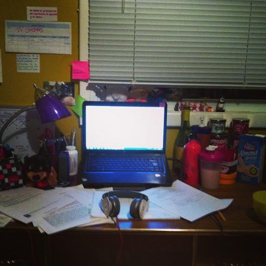 desk study space