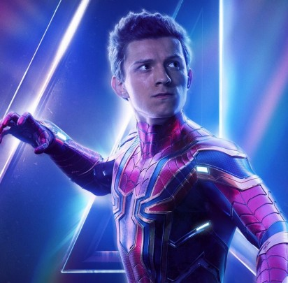 tom holland infinity war